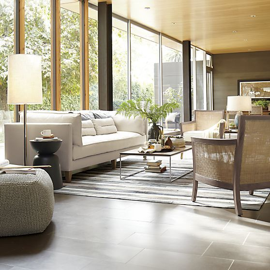 crate and barrel living room ideas. Blake Grey Wash Lounge Chair With Cushion. Find This Pin And More On Living Rooms Crate Barrel Room Ideas