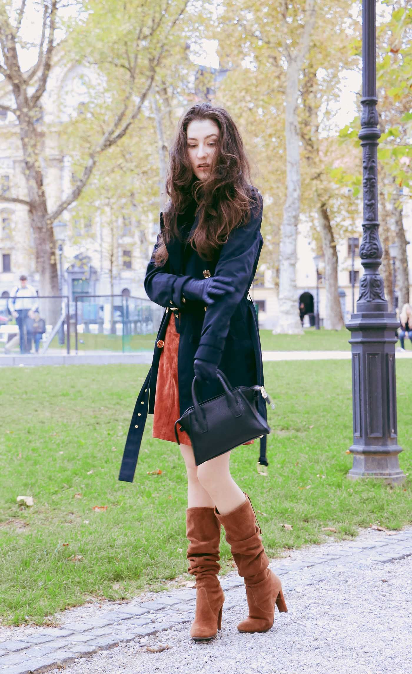 how to wear the slouchy boots | slouchy boots, brunettes and street