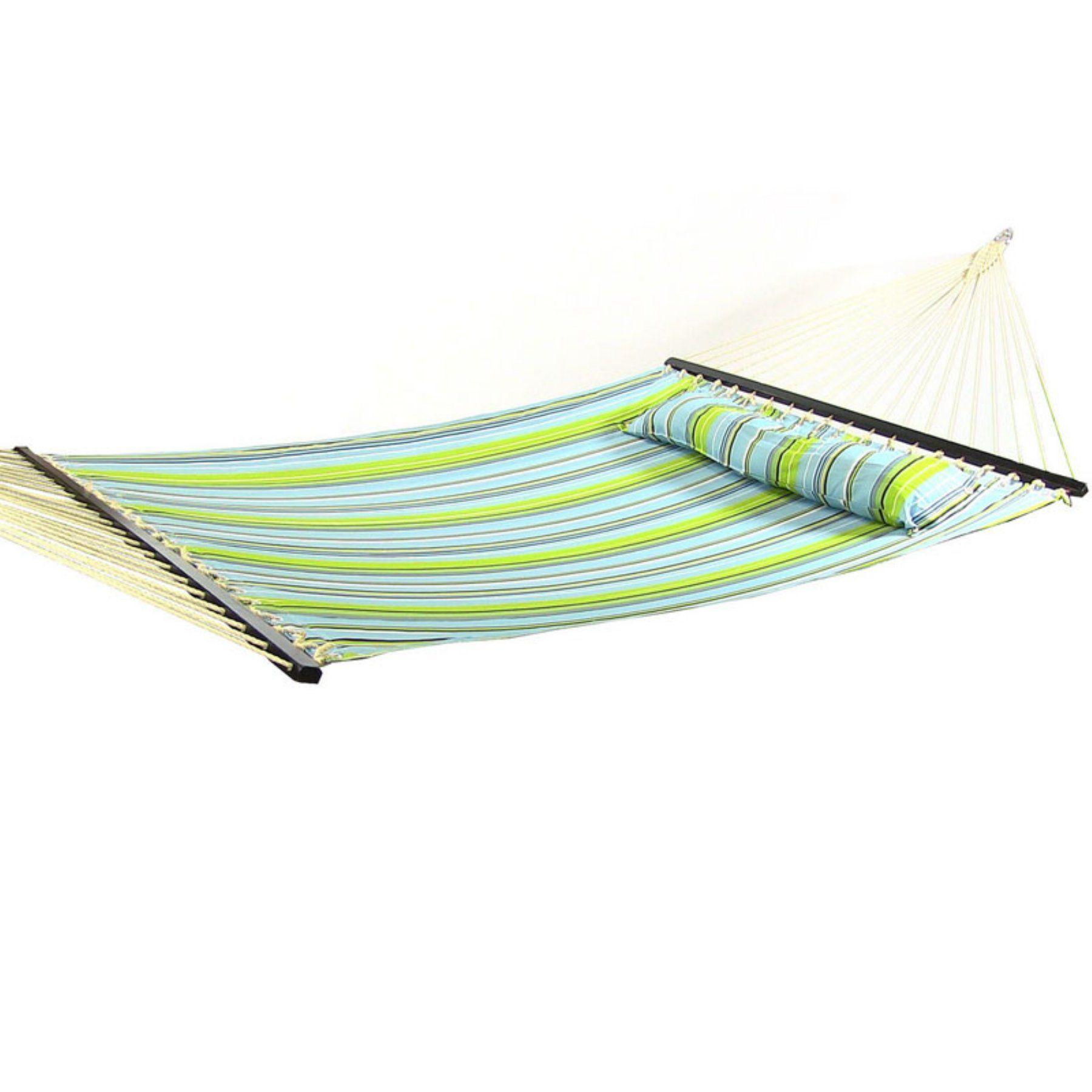 Sunnydaze decor ft sunnydaze quilted double hammock with