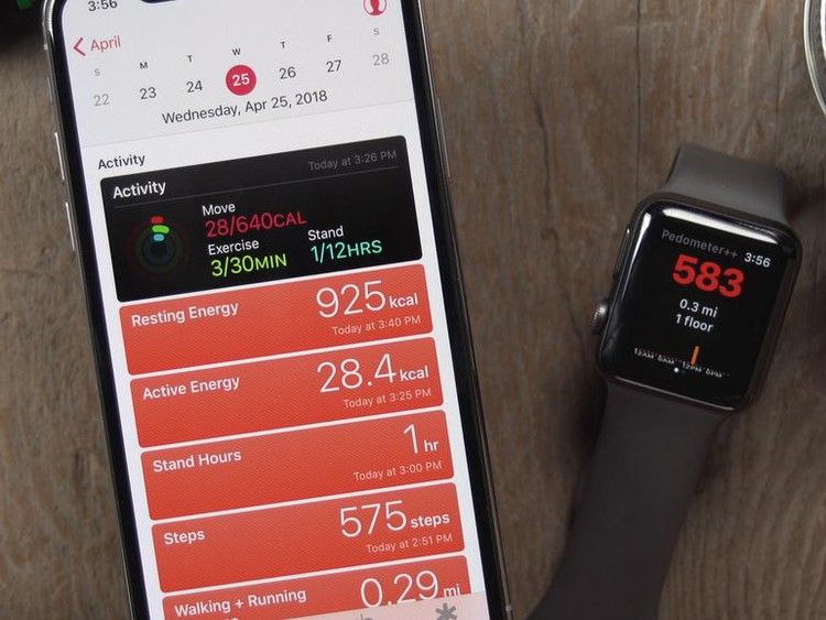 Count steps more easily with the Apple Watch —