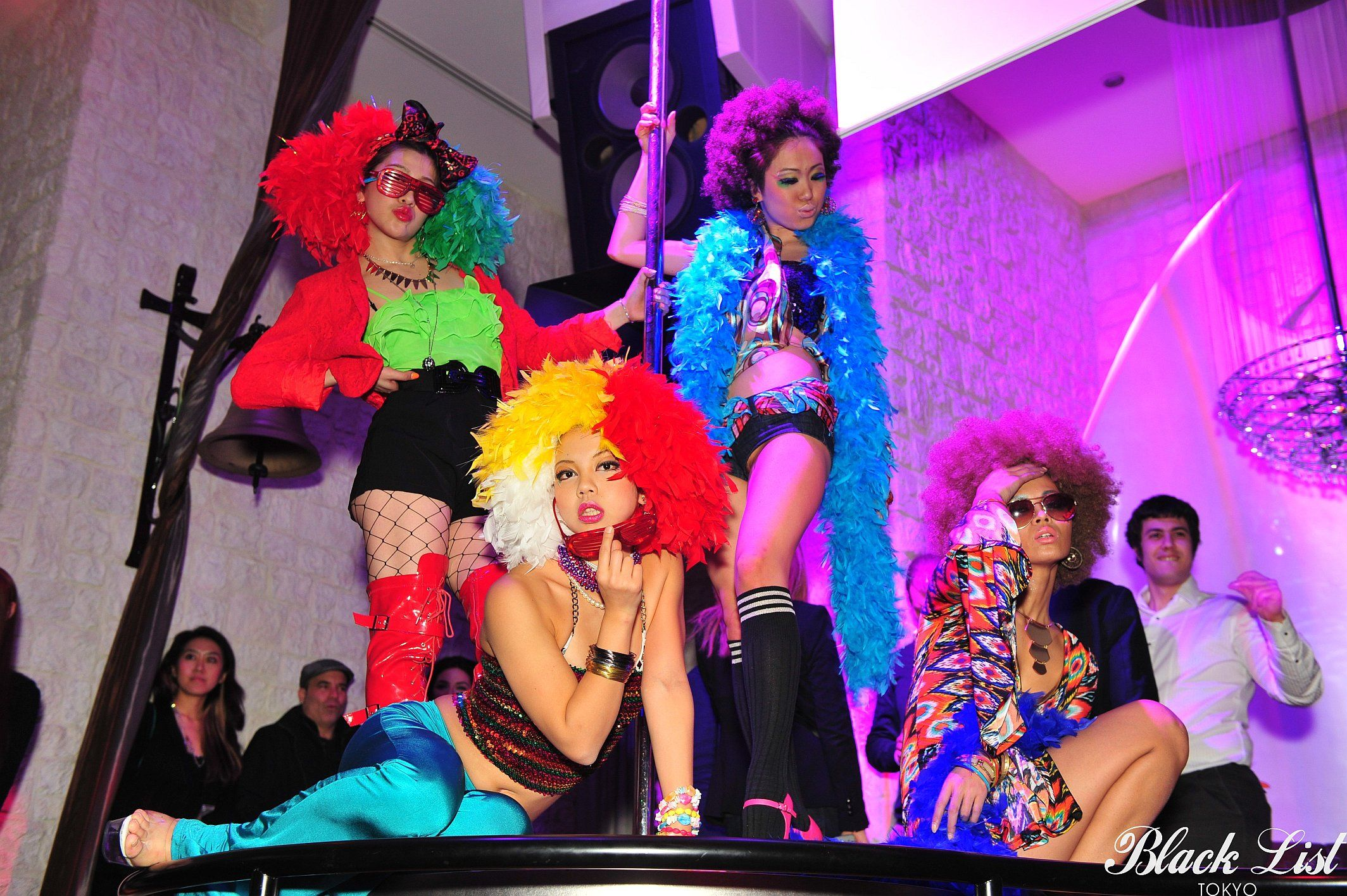 Black List Tokyo x Southern Comfort 2013 dancers #blacklist #tokyo #party #lega #fashion #southerncomfort #jackdaniels #dancers