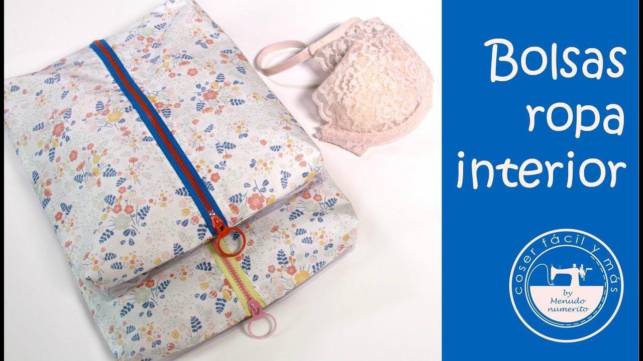 Bolsas para ropa interior, ideas para viajar   Bolsa para