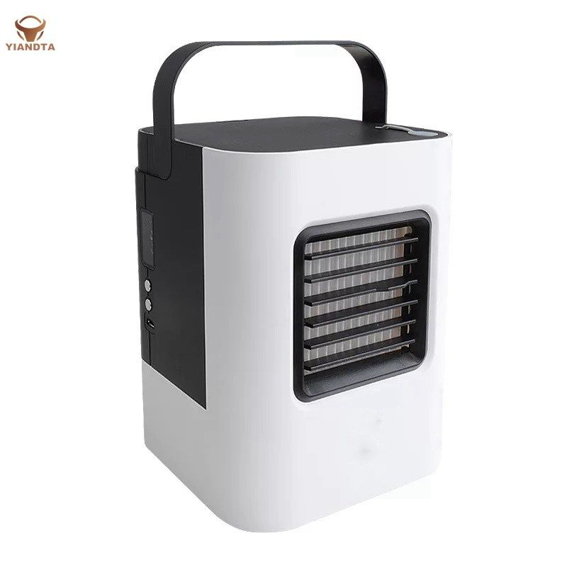 Yitabelt Air Cooler Usb Rechargeable Air Conditioning Fan Mini Cooler Rechargeable Negative Conditionin Air Conditioning Fan Portable Air Conditioner Ion Air