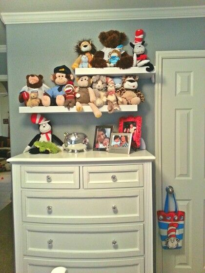 Incredible Floating Shelves For Stuffed Animals My Home Diy Projects Download Free Architecture Designs Lukepmadebymaigaardcom