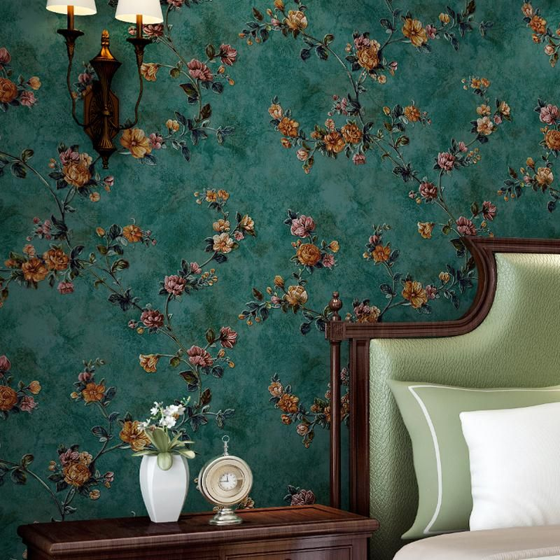 Best Photo Wallpaper 3D Stereo Chinese Flowers Birds Mural 640 x 480