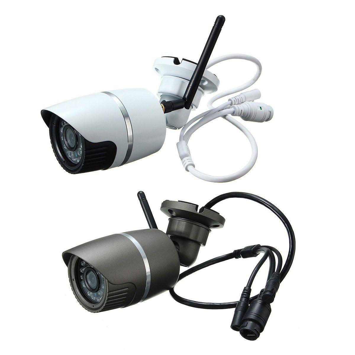 Safurance Outdoor Wireless WiFi 720P HD IP Network CCTV Home ...