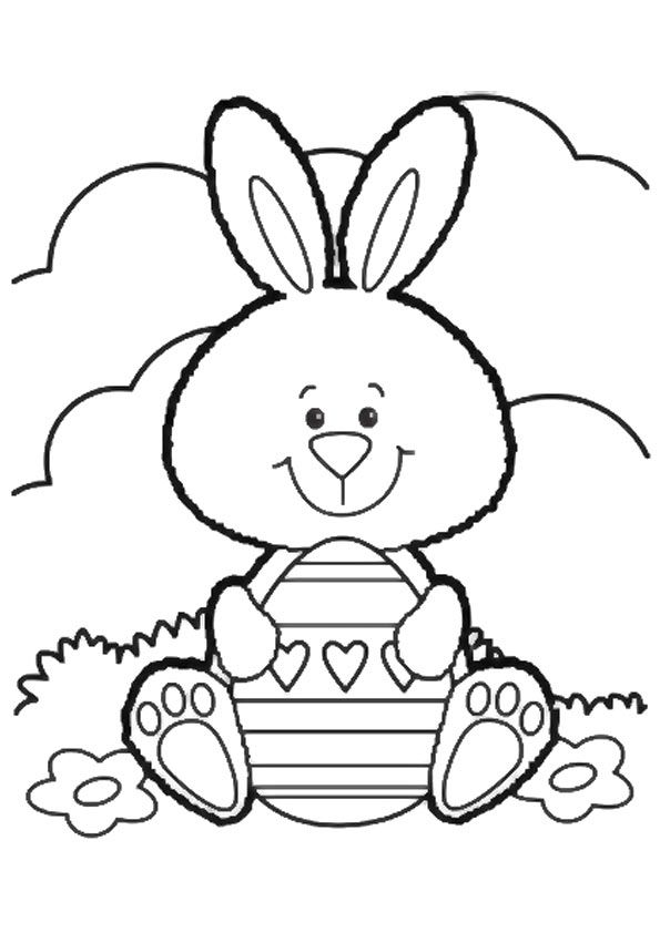 Click Share This Story On Facebook Bunny Coloring Pages Free Easter Coloring Pages Easter Bunny Colouring