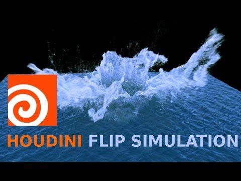 Houdini 13 Flip Fluid Simulation Tutorial - YouTube