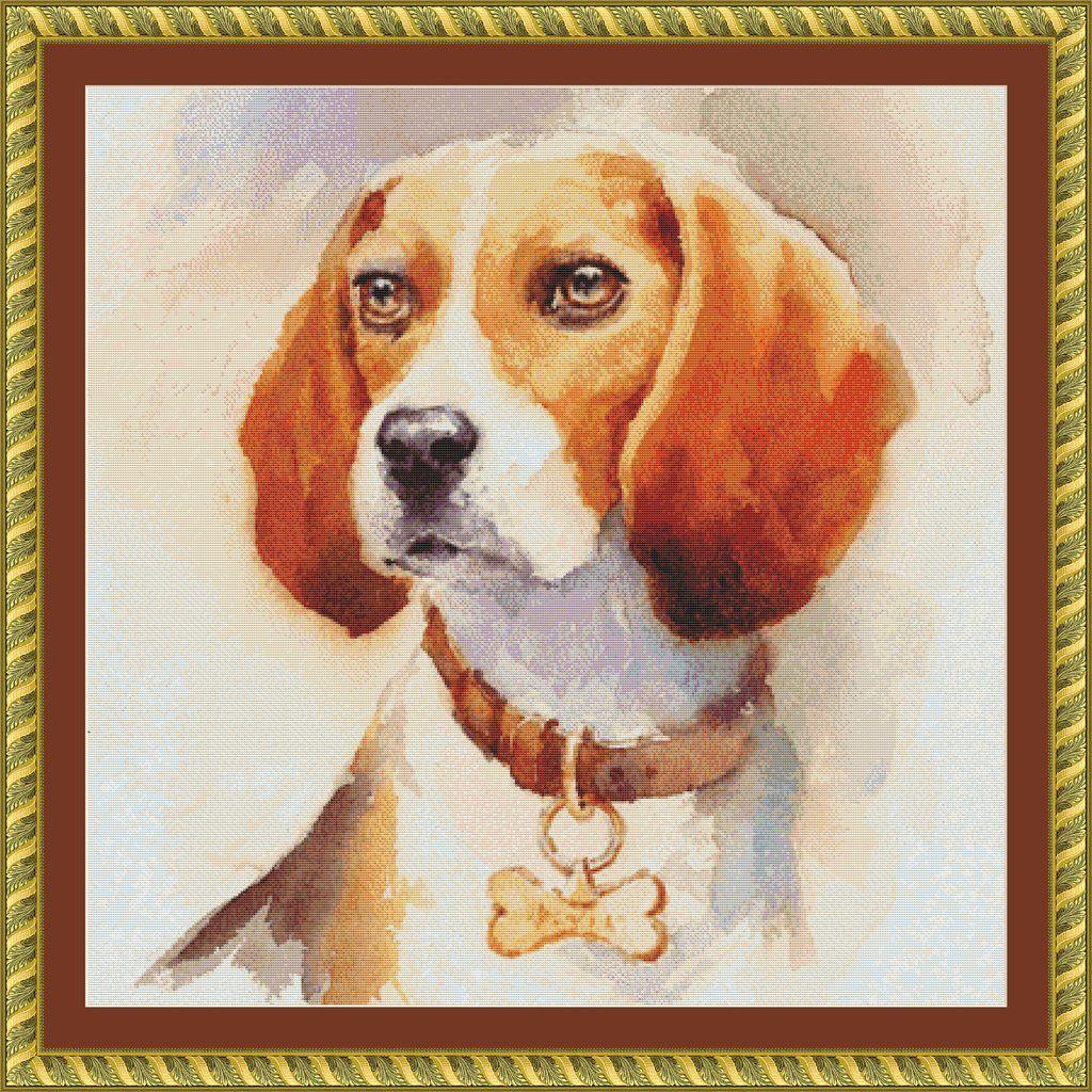 Watercolor Beagle Animal Paintings Cat Art Print Beagle Art