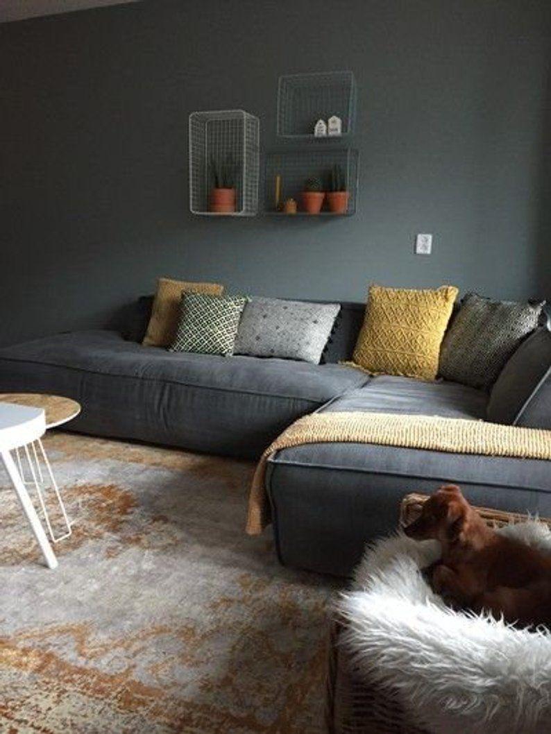 Sofa Model Puzzle Xl Etsy Decoracion De Interiores Salones