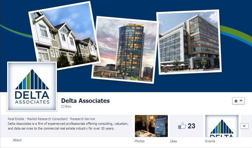 Follow us on Facebook for updates about commercial real estate and - real estate market analysis