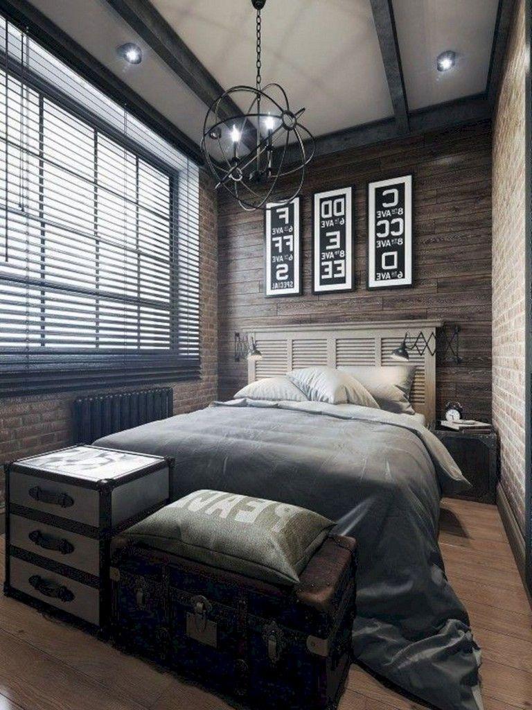 4+ Magnificent Industrial Bedroom Design Ideas For Unique Bedroom
