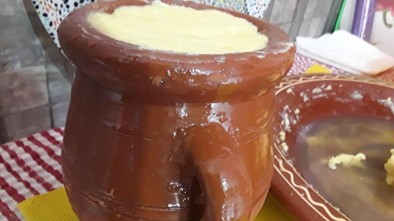 السمن البلدي الحار المغربي بالطريقة التقليدية من يد أمي Youtube Recipes Food Desserts