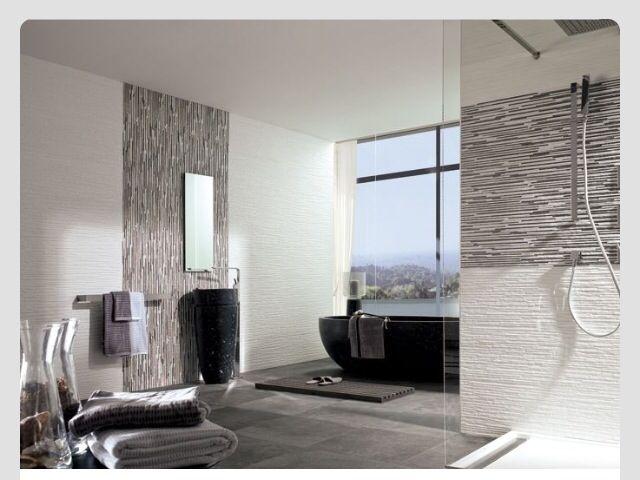 Jersey Mix, Jersey Nieve #Porcelanosa #Bathroom #Design #Ideas #Grey # ...