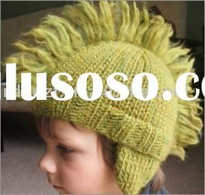 knit Mohawk Ski Hat kid s hat knitted hat children headwear  58776653e57