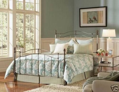 Brushed Black Nickel Bed $819