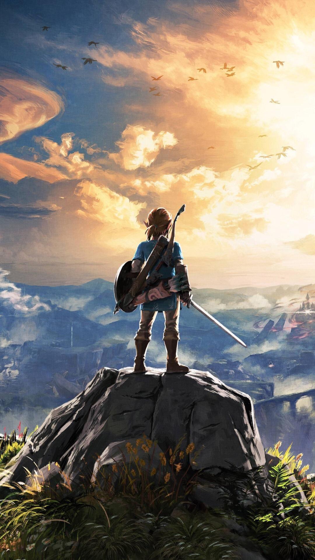 Zelda iphone wallpaper tumblr - The Legend Of Zelda Breath Of The Wild Wallpapers Birchtree