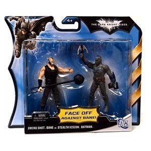 Batman The Dark Knight Rises Swing Shot Bane vs. Stealth Vision Batman 2-pack @ niftywarehouse.com