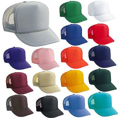 Mens Accessories 45053  Bulk Lot Of 100 Trucker Hats ~ Wholesale Mesh Caps  Adjustable Snapback Hat Blank -  BUY IT NOW ONLY   189 on eBay! 6b5e7b00be8