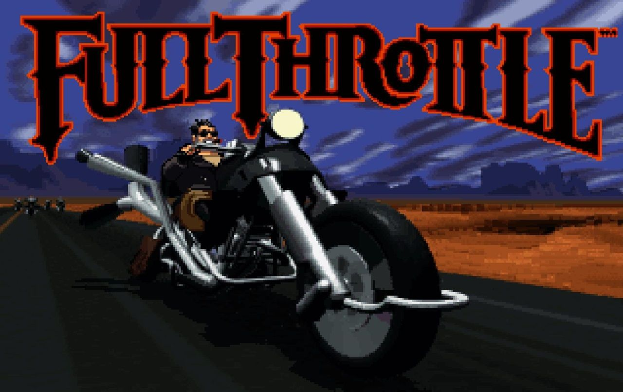 Full Throttle Remastered Is Coming To Pc Ps4 And Ps Vita Full Throttle Tim Schafer Retro Gaming