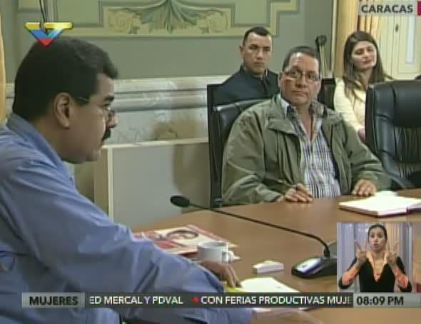 @DrodriguezVen : RT @correoorinoco: Presidente Maduro encabeza reunión del Consejo Nacional de Economía Productiva https://t.co/HNInevtTdU https://t.co/UeliAotWIX