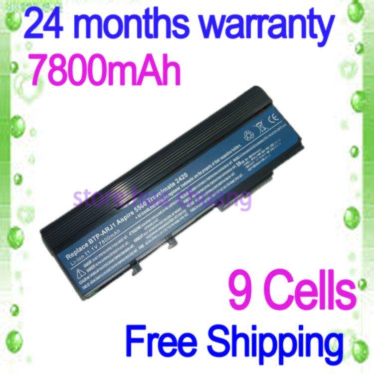 Jigu High Capcity Black Arj1 Laptop Battery For Acer Aspire 2920 5552 2920z 3620 3623 3628 Travelmate 2420 Extensa 46 Laptop Accessories Laptop Battery Laptop