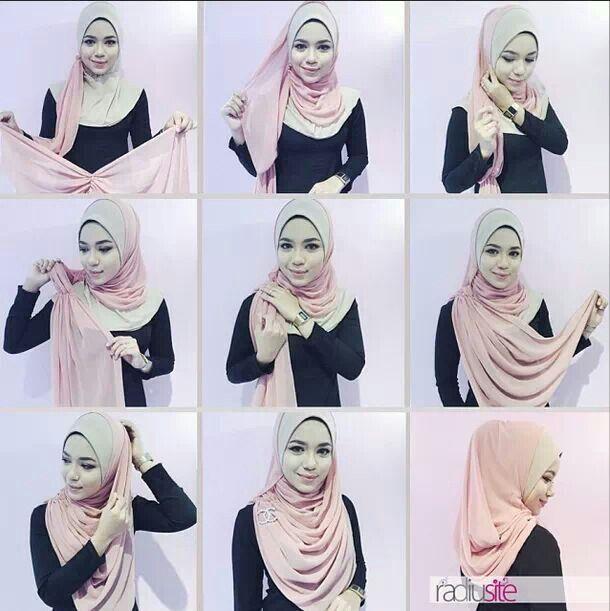 Pin By Siddika Kalinawala On Scarfs Shawls Hijab Hijab Tutorial Hijab Style Tutorial Tutorial Shawl Chiffon