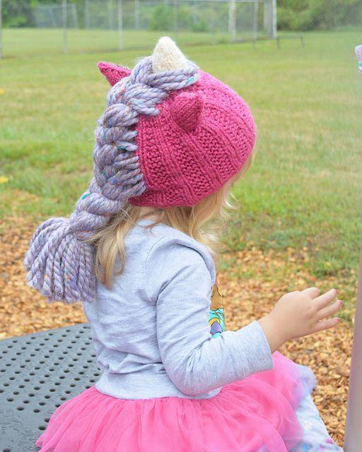 Unicorn Hat   Unicorn hat, Hat pattern, Baby knitting