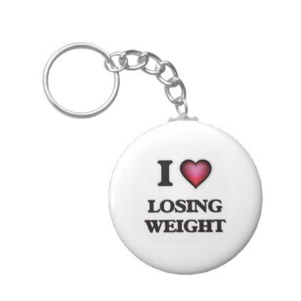 #template - #I Love Losing Weight Keychain