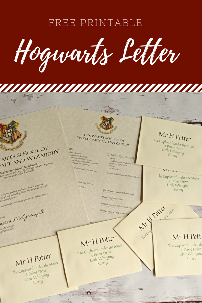 There Is Not A Harry Potter Fan Alive That Wouldnt Love To See Hogwarts Letter With Their Name On It Delivered By Owl This Fun Print