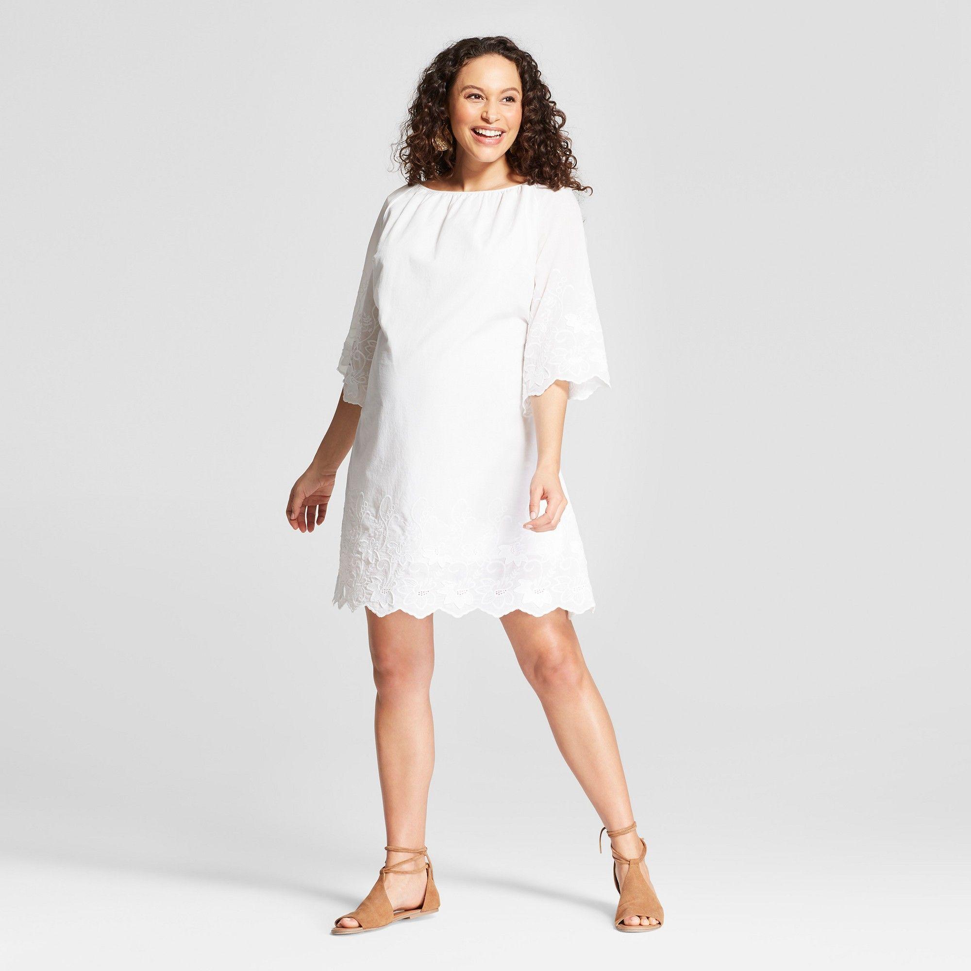 4741b282d7e Maternity Flutter Sleeve Swing Dress - Isabel Maternity by Ingrid   Isabel  Safari Rose S