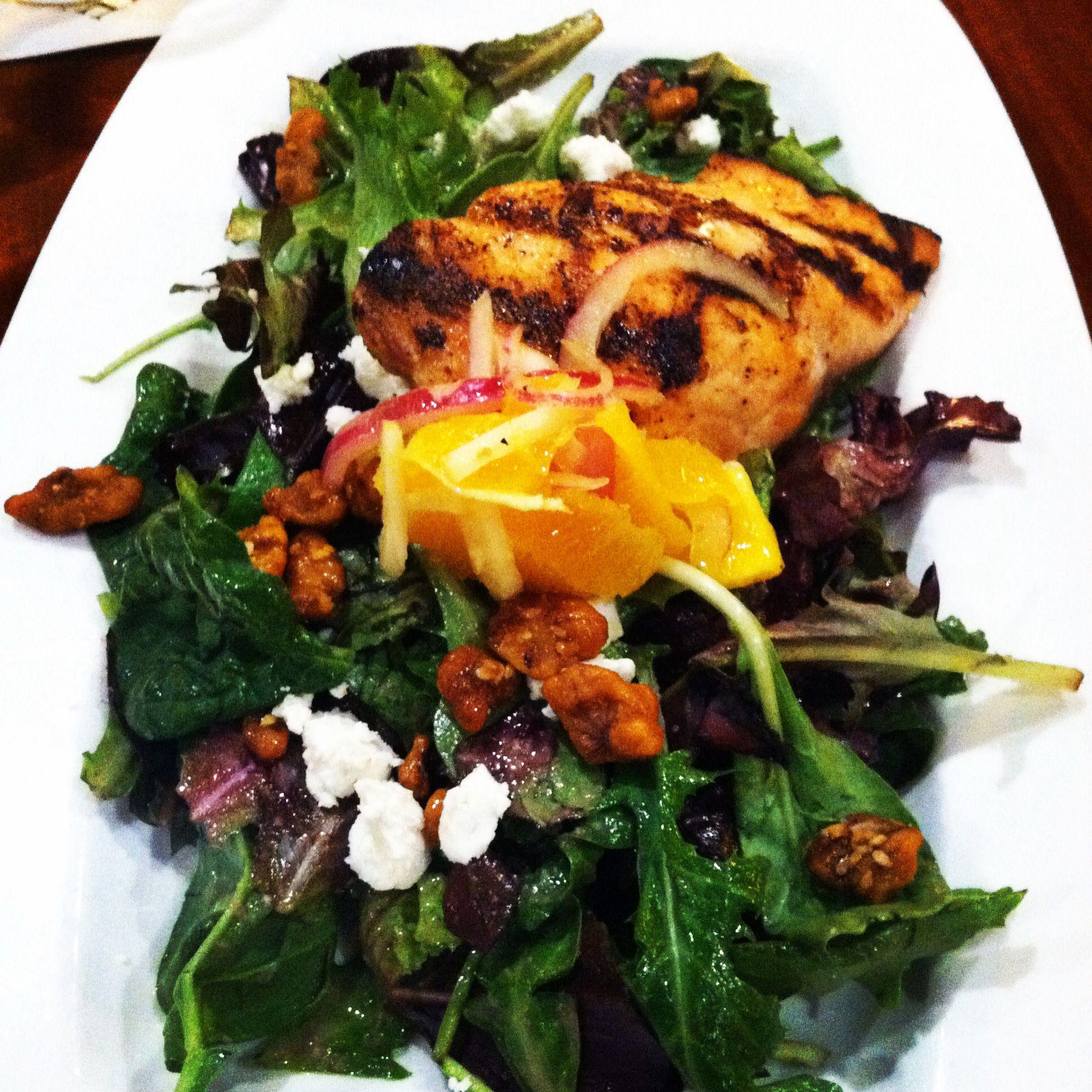 Day 14! Salmon salad! @Andrea Tate cinci