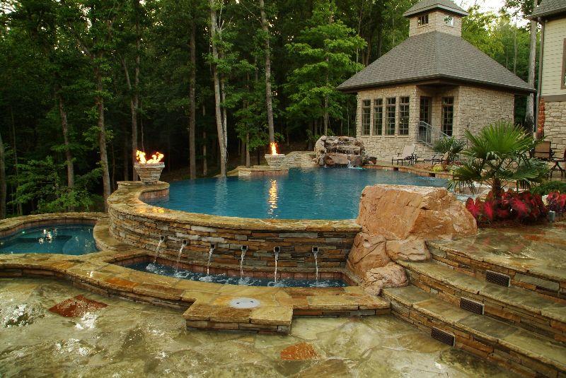 Outdoor Living | Little Rock Pool Builders | Elite Pools ... on Elite Pools And Outdoor Living id=30679