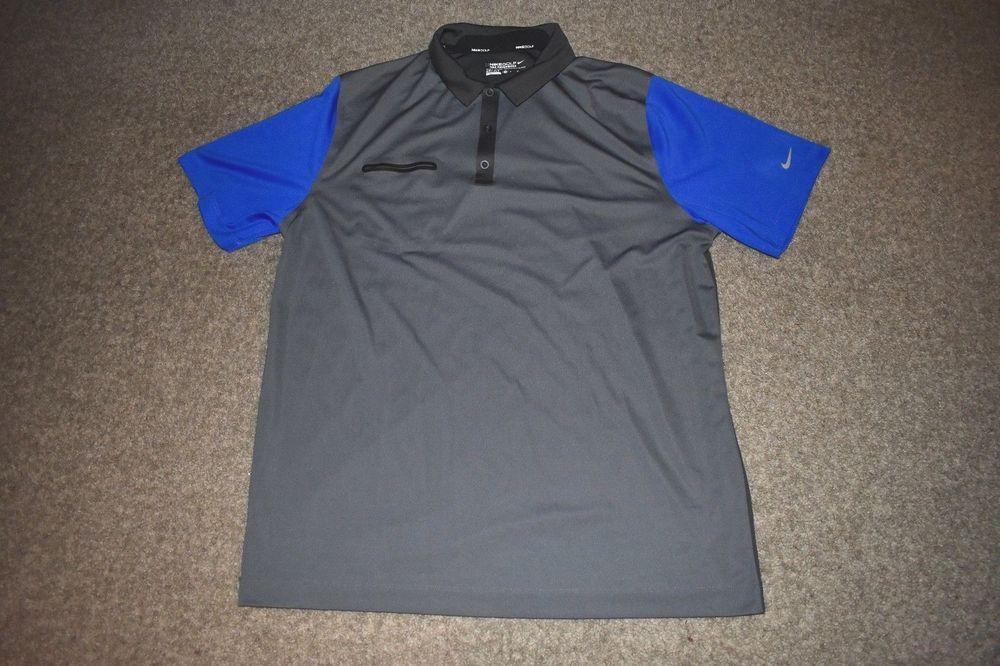 30979def Nike Mens Golf Lightweight Innovation Colour Shirt 585820 Size X Large XL # NikeGolf #PoloShirt