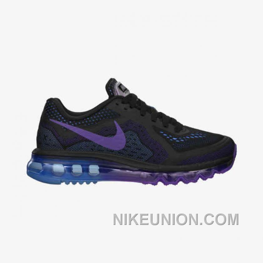 Fashion Nike Air Max 2014 Cheap sale Pink Blue Black 621078-024
