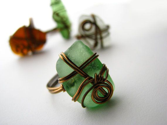 Pretty wrapped ring