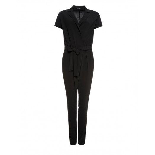 Tuta Intera In Cady Con Cintura In Vita Jumpsuit Clothes Fashion