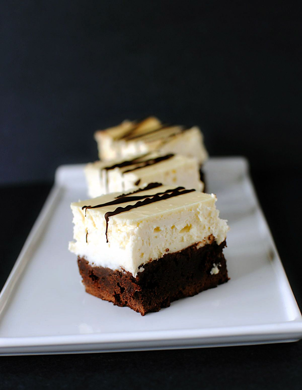 Brownie Cheeecake Recipe From The Boardwalk Bakery In