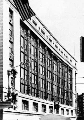 Filene's Dept Store, 1911, Boston Daniel H. Burnham