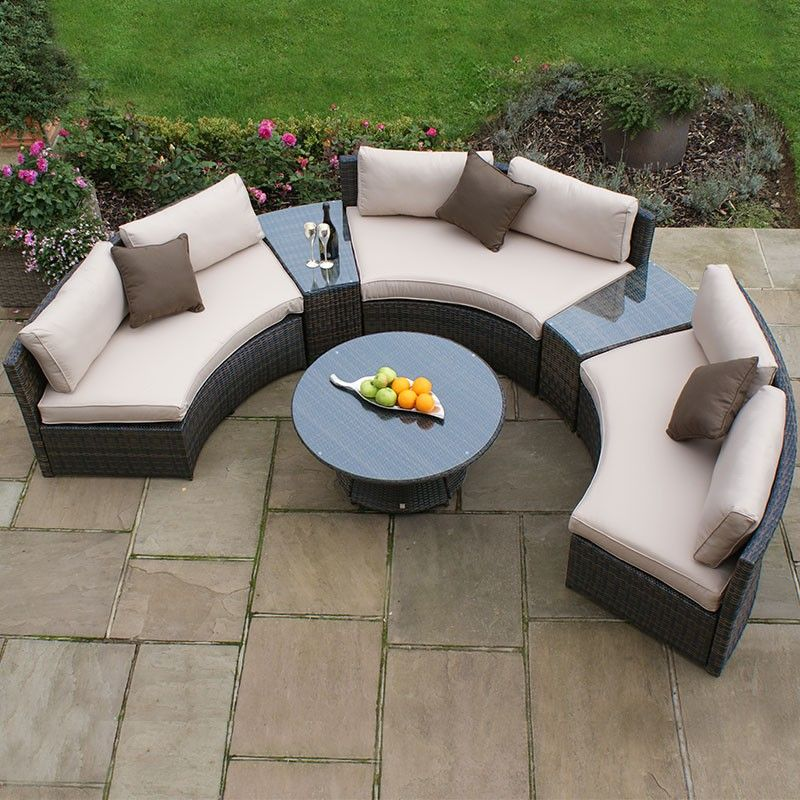 Pin By Well Furnir On Outdoor Furniture Design Garden Sofa Set Furniture Sofa Set Garden Sofa