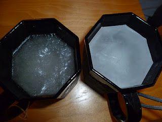 salt water / water freezing experiment