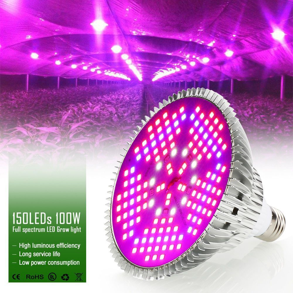 Led Pflanzenlicht E27 100w 2835 Chips Growing Led Light Lamp Bulb For Indoor Plants