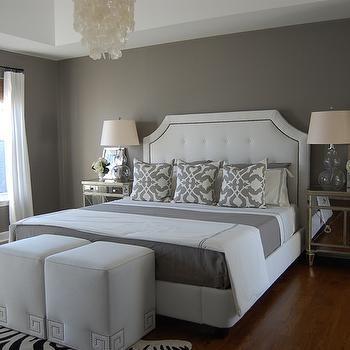 gray bedroom contemporary bedroom benjamin moore galveston gray