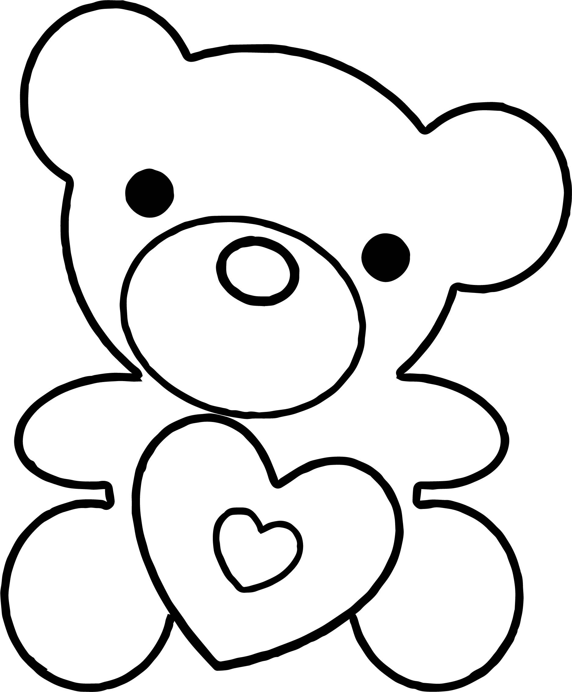 nice Must Bear Coloring Page Bear coloring pages