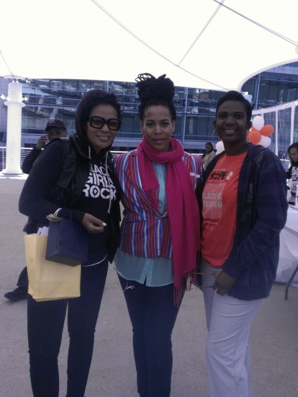 Beverly Bond (Black Girls Rock), Asha(The Collective Advocates), Natalie Wilson (Black & MissingFoundation)