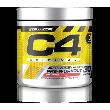 Cellucor C4 Original Pre Workout Powder, Fruit Punch, 30