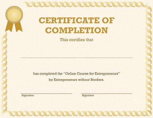 Free Certificate Template By HloomCom  Jhmgbfv