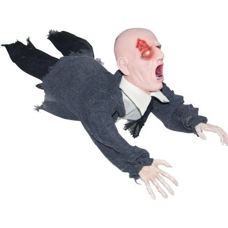 Buy Crawling Zombie Halloween Decoration at Walmart Halloween - zombie halloween decorations