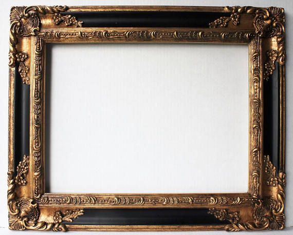 Large Gold Ornate Picture Frames Baroque Wedding Frame Rococo | My ...