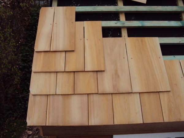 Ma Galerie Photos - Toiture bardeau de Cèdre - Travaux de toiture